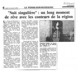Nuitsinguliere 1999